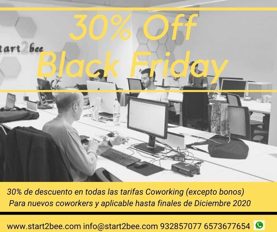 Black friday coworking