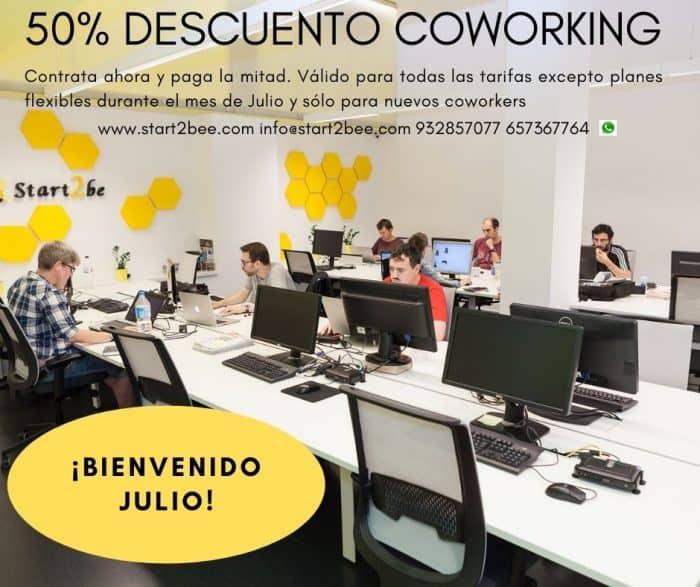 50% coworking start2bee